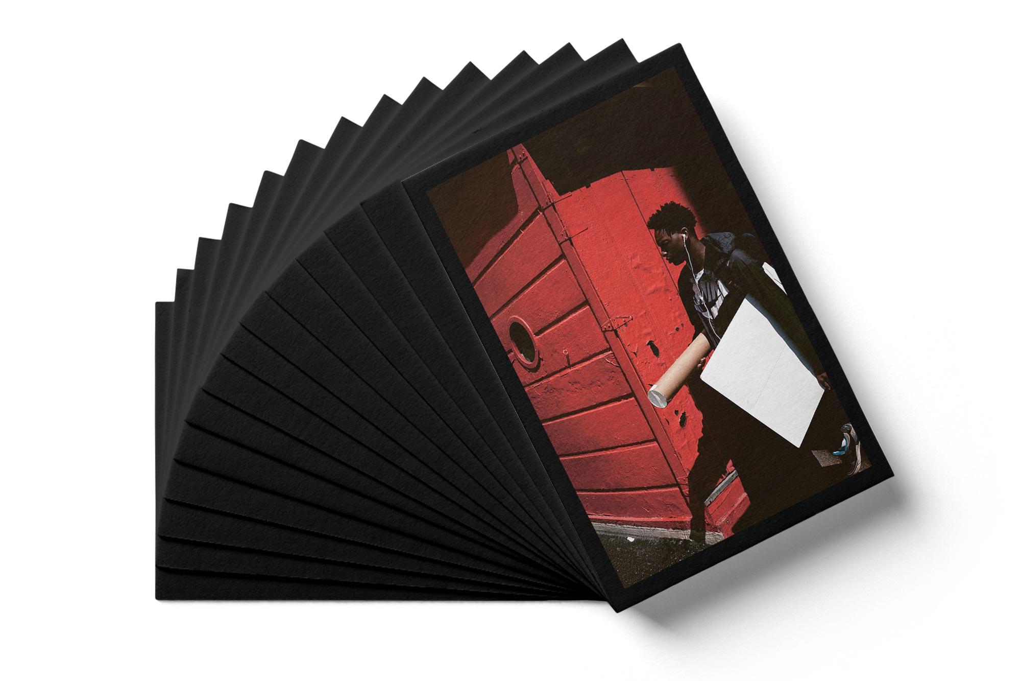 Postkarten für die Ausstellung der Berufsfotografen Vorarlberg – Bernhard Hafele, viergestalten