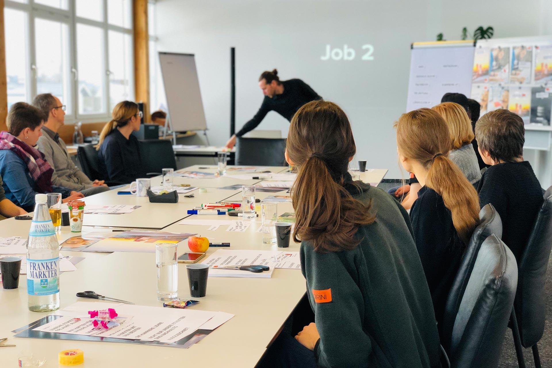 Etiketten CARINI, Workshop, Bernhard Hafele, viergestalten