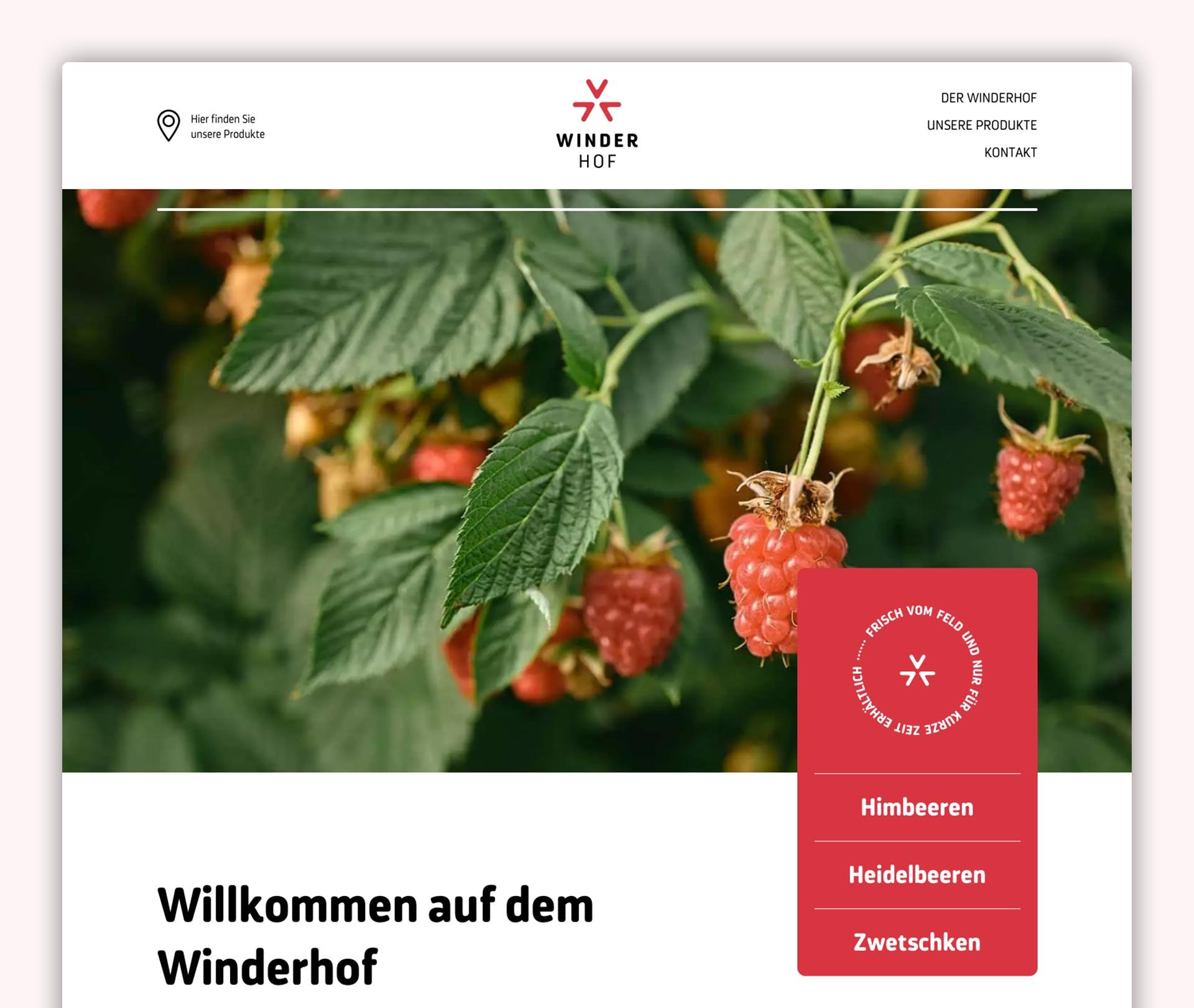 Startseite Winderhof