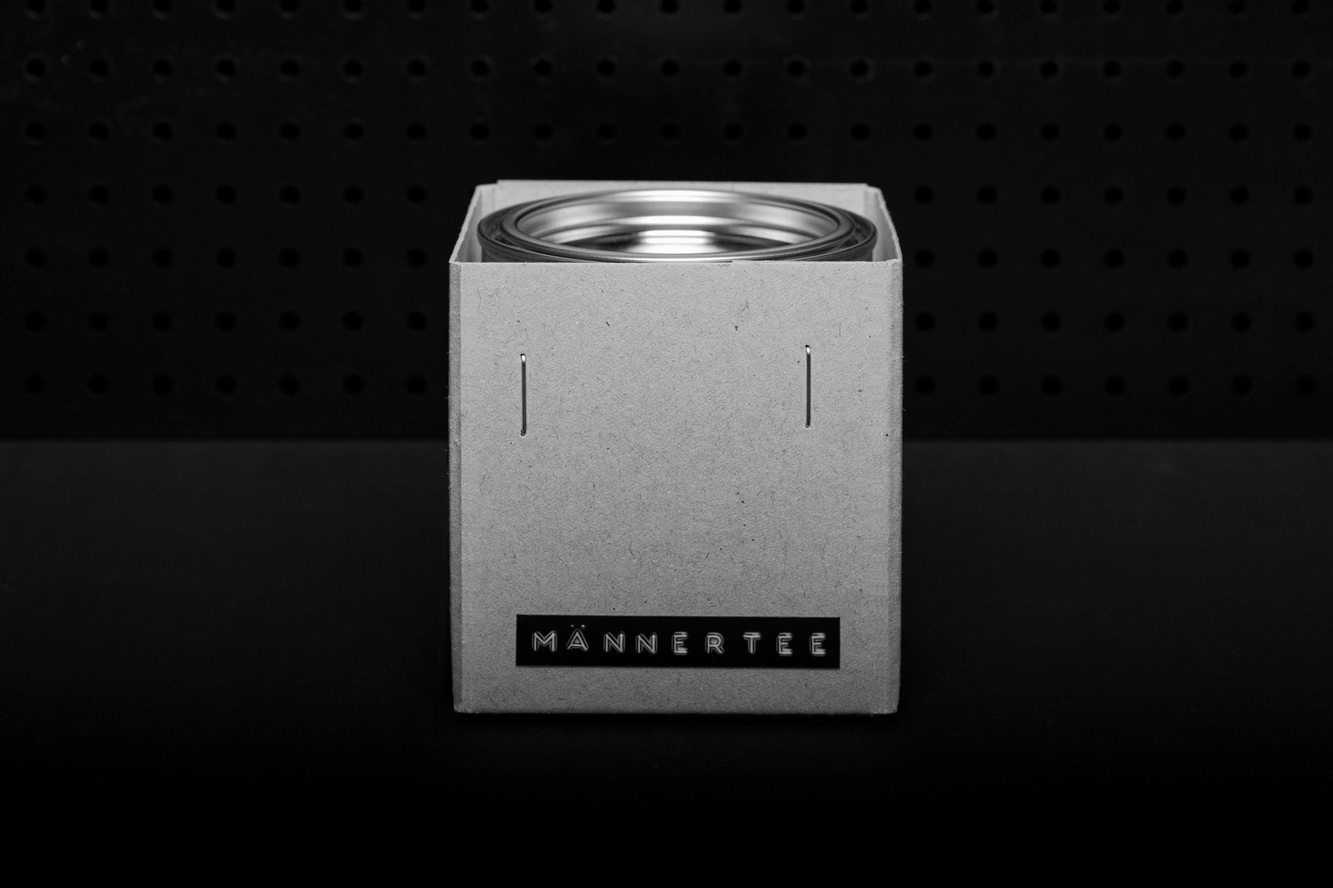 Männertee Packaging Design