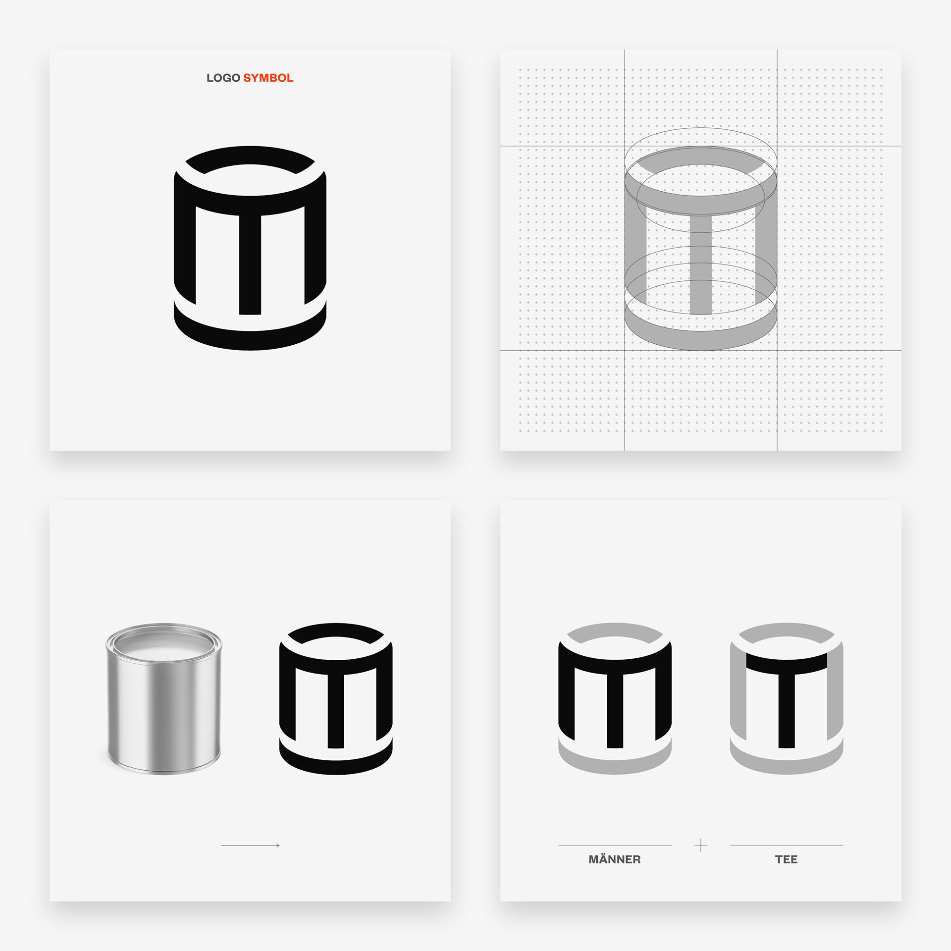 Männertee Logo Design